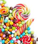 Colorful Candy and Lollipops